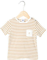 Petit Bateau Boys' Striped Pocket T-Shirt