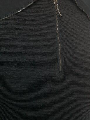 John Galliano Pre-Owned 1980s Polo Zipped Bodysuit