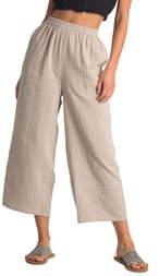 Billabong Olivia Crop Cotton Pants