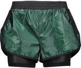 Koral Scout layered coated-shell and mesh shorts