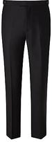 John Lewis Slim Fit Dress Suit Trousers, Black