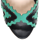 Loeffler Randall Damaris platform sandal