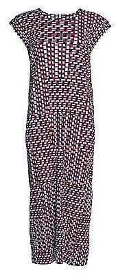 Pleats Please Issey Miyake Women's Bloom Straight Midi Dress