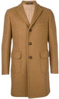 Tagliatore single breasted coat - men - Polyamide/Cupro/Virgin Wool - 52