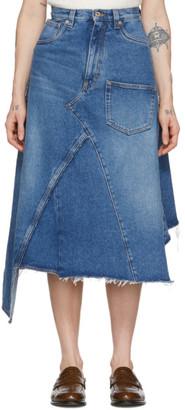 Loewe Blue Denim Skirt