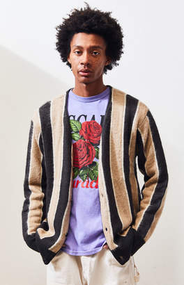 Pacsun PacSun Kanter Striped Knit Sweater Cardigan