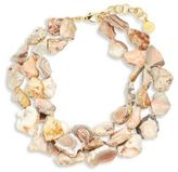 Nest Pink Agate Statement Necklace