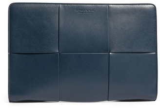 Bottega Veneta Leather Document Case