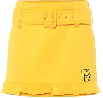Prada Technical jersey miniskirt
