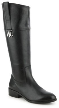 Lauren Ralph Lauren Merrie Wide Calf Riding Boot