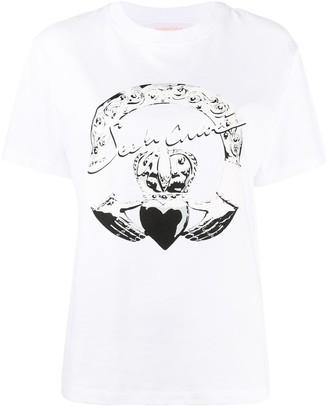 See by Chloe logo print T-shirt