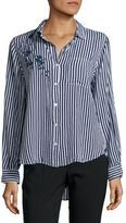 Saks Fifth Avenue Button-Down Striped Shirt