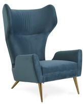 "Jonathan Adler Milano 23.25"" Wingback Chair"