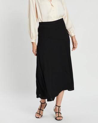 Banana Republic Solid Maxi Skirt