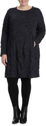 Toni Plus Bubble Knit Shift Dress