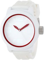 Kenneth Cole Reaction Men's Reaction RK1241 Silicone Analog Quartz Watch with Dial