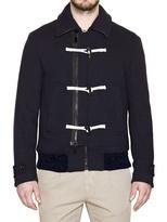 Gazzarrini Wool, Cashmere & Jersey Blend Jacket