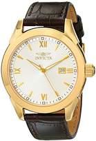Invicta Men's 18116 Specialty Analog Display Swiss Quartz Brown Watch