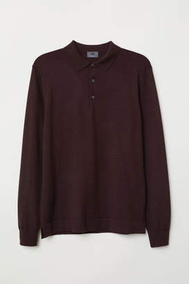 H&M Long-sleeved merino wool top