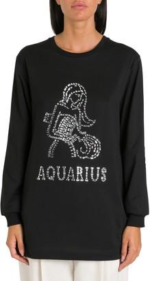 Alberta Ferretti Aquarius Embellished Top