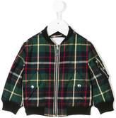 Burberry tartan bomber jacket