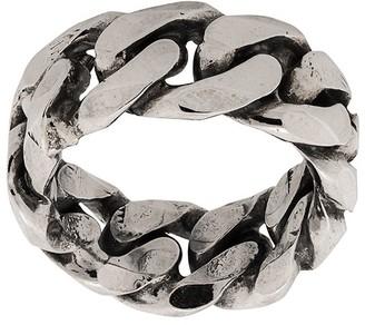 Emanuele Bicocchi Rigid Curb Chain-Style Ring