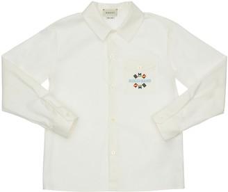 Gucci Stretch Cotton Poplin Shirt