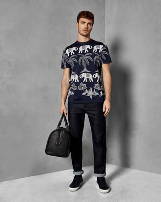 Ted Baker MATAR Elephant print cotton T-shirt