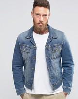 Lee Rider Slim Denim Jacket Blue Surrender