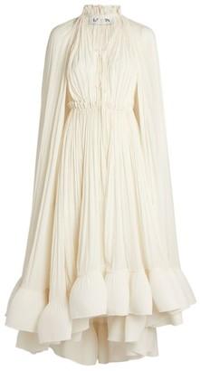 Lanvin Ruffle-Hem Dress