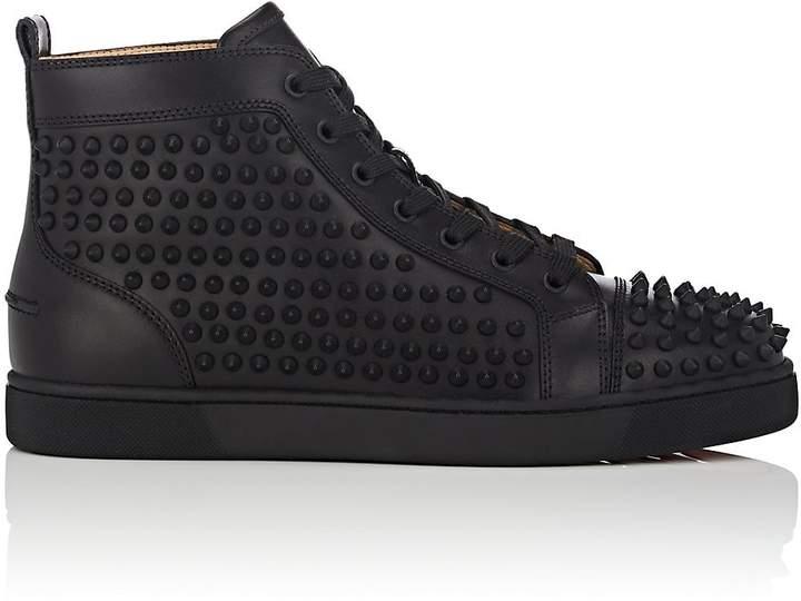 Christian Louboutin Men's Yang Louis Flat Leather Sneakers