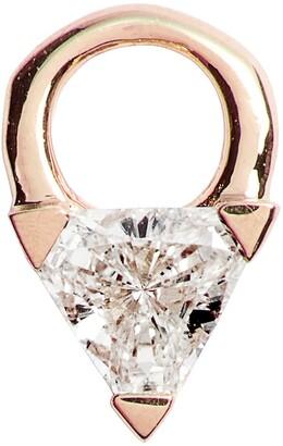 Maria Tash Diamond Trillion Earring Charm