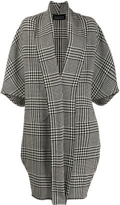 Gianluca Capannolo Houndstooth Coat