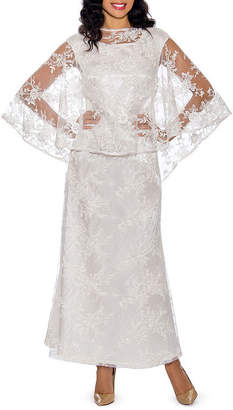 Giovanna Signature Short Sleeve Evening Gown
