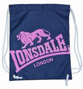 Lonsdale London Printed Gym Sack Bag Training Sports Accessories