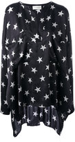 Faith Connexion Star Over tunic - women - Silk - XS
