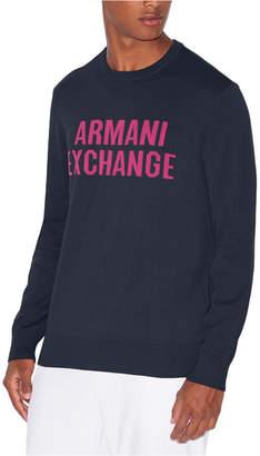 Armani Exchange Men Logo Sweater