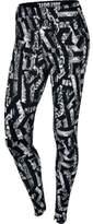 Nike Womens Leg-A-See Allover Printed Tights