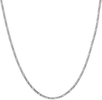 FINE JEWELRY 14K Gold 20 Inch Solid Figaro Chain Necklace