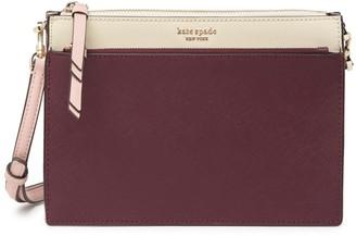 Kate Spade Cameron Leather Zip Crossbody Bag