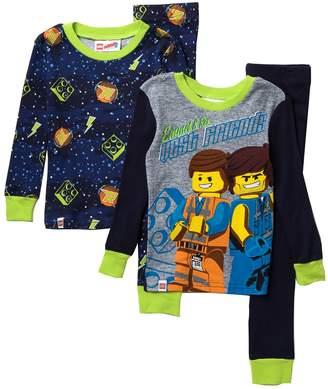 Lego Sgi Apparel Movie Cotton Pajama Set - Set of 2 (Little Boys & Big Boys)