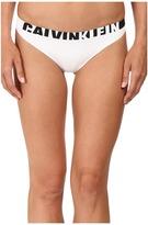 Calvin Klein Underwear Logo Cotton Thong