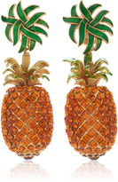 Dolce & Gabbana Pineapple Drop Earrings