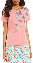 Sleep Sense Butterfly Jersey Sleep Top