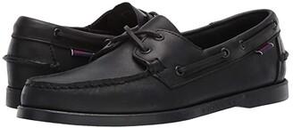 Sebago Dockside Portland (Total Black) Men's Shoes