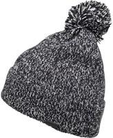 Firetrap Mens Twist Yam Bobble Hat Black