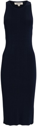 L'Agence Shelby Bodycon Midi Dress