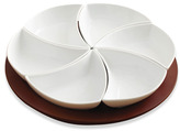 Lazy Susan B. Smith 7-Piece Swirl Server