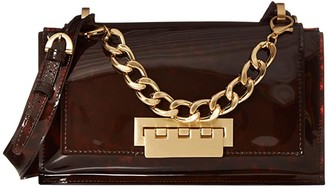 ZAC Zac Posen Earthette Top-Handle Shoulder (Tortoise Glass) Handbags