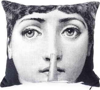 Fornasetti Silence pillow